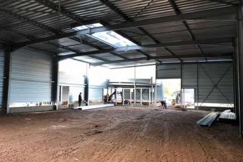 Phase de construction intérieur